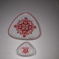 Hollóházi porcelán tálkák ( 2 db)