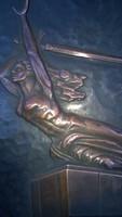 Niké avagy Viktória réz falikép