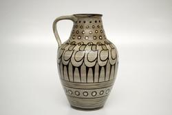 Régi galambos, jelzett kerámia Váza / Retró váza