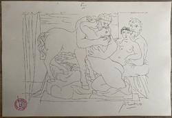 Picasso nyomat