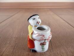 Antik Herendi kis kínai figura