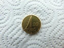 Svájc 20 eurocent 2003 probe - proba