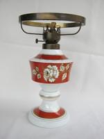 Wallendorf porcelán lámpatest petróleumlámpa