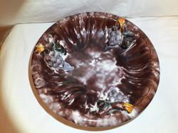 Antik nagy méretű kerámia asztal közép kínáló