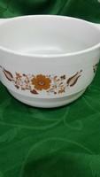 Panni dekoros alföldi porcelán leveses tál