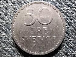 Svédország VI. Gusztáv Adolf (1950-1973) 50 Öre 1967 U (id44294)