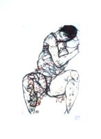 Egon Schiele litográfia, leárazáskor nincs felező ajánlat!