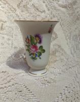 Virágos Herendi váza 13cm