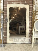 Vintage, antikolt Biedermeier álló tükör.