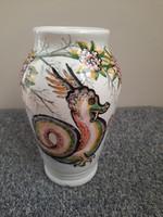 Sárkányos  riolit Hollóházi váza