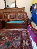 Bőr ülőgarnitúra része-2-es kanapé
