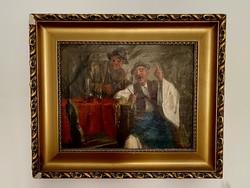 Horváth G. Andor - Szól a nóta festmény