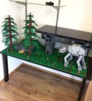 Lego hatalmas MOC egyedi építés Star wars