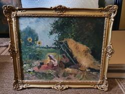 Újváry Ignác -Több Külföldi Aukción szerepelt-/1860-1927/