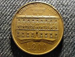 Olaszország 100 éves az Állami Tanács 200 Líra 1990 R (id27470)