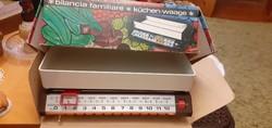 Nagyon szép retro mechanikus konyhai mérleg 13 kg - saját dobozában!
