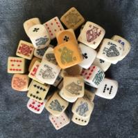 Kártyás dobókocka gyűjtemény