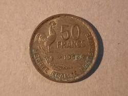 Francia 50 Frank 1953