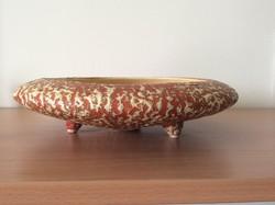 Tófej 3 lábú asztalközép