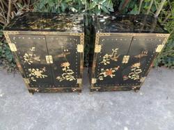Antik kínai komódok párban