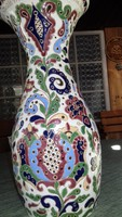 Hódmezövásárhelyi váza 40 cm különleges alkotás