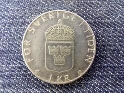 Svédország XVI. Károly Gusztáv (1973-) 1 Korona 1977 U (id17530)