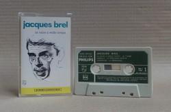 Jacques Brel - La Valse à Mille Temps - magnókazetta