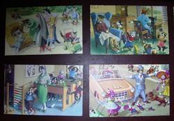 Macskás képeslapok, humorosak