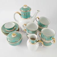 Csehszlovák porcelán teáskészlet