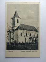 Kisbarát Római katolikus templom képeslap 1998