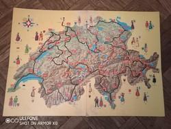 Schweitzer Reise 1970-80-as évekbeli svájci társasjáték
