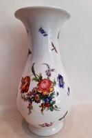 Gyönyörű antik nagyméretű HÜTTL TIVADAR Aquincum porcelán váza