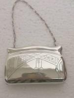 Antik orosz cári ezüst SZECESSZIÓ pénztárca  pénzszelence Moszkva