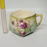 Ibolyamintás fajansz csésze (1625)