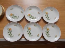 Csodaszép Kahla porcelán tányér készlet