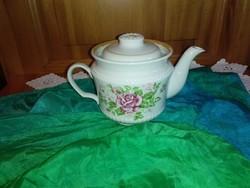 Régi, rózsás kiöntő...teás,kávés.