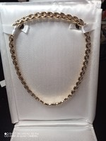 Luxus 18 k arany nyakék