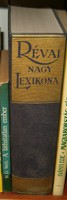 Révai nagylexikon 1 darabos sorozat rész 90 es évek kb földpálya grec közötti szavakat tartalmazza