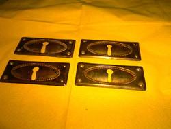 4 db antik bútorhoz réz bútorveret , zártakaró 1000 Ft /db