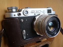 FED -2 fényképezőgép.