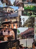 Amerikai városok képeslap csomag és leporello
