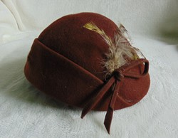 Eredeti antik art deco kalap az 1920 -as évekből