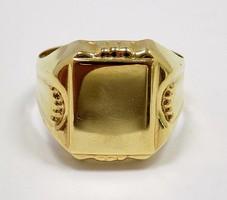 Arany pecsétgyűrű (ZAL-Au93322)