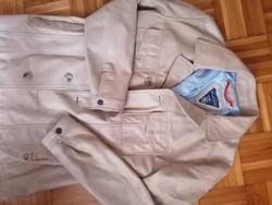 Tommy Hilfiger férfi valódi bőr kabát eladó L - Xl méret / lemérve !