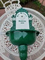 Meseszép Zöld- Fehér falikút