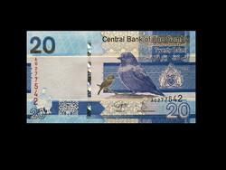 UNC - 20 DALASI - GAMBIA - 2019 (új pénz)
