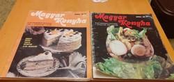 40 éves Magyar Konyha gasztronómiai magazin - 1981! - V. évfolyam 1. és 2. szám