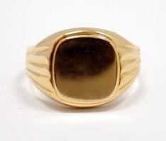 Arany pecsétgyűrű (ZAL-Au92156)