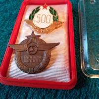 Balesetmentes vezetésért kitüntetések