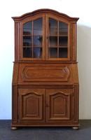 1D884 Üveges könyvszekrény írókomód írószekreter stílbútor 198 cm
